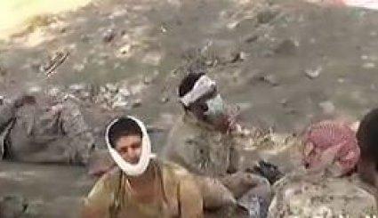 فيديو خاص لآلاف الأسرى بينهم سعوديون بقبضة القوات اليمنية
