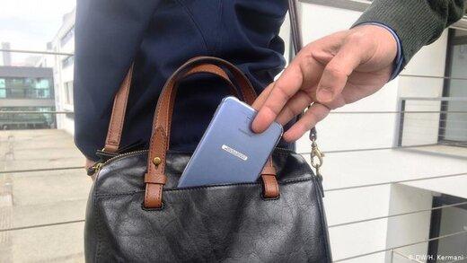 دزد زرنگ جیب همراهان بیماران را میزد