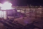 فیلم | تصاویر جدید از انفجار تاسیسات نفتی عربستان