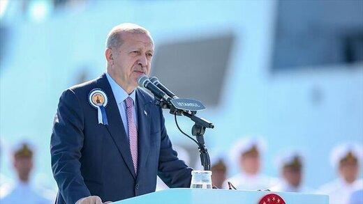 """أردوغان يطلع زعماء أحزاب المعارضة على عملية """"نبع السلام"""" شمالي سوريا"""