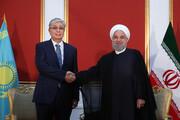 تصاویر | دیدار روحانی با رئیسجمهور قزاقستان