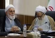 تکرار همنشینی ناطق نوری و آیتالله موحدی کرمانی در جلسه مجمع تشخیص