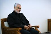فیلم | واکنش تند سردار سلیمانی به صحبتهای سخیف بوش
