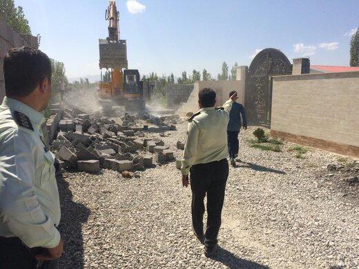 صدور ۹۴ حکم تخریب ساختوساز غیرمجاز در اراضی زراعی و باغی ارومیه