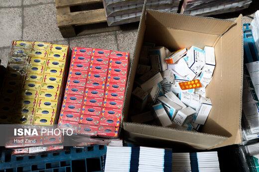 بارگیری محموله دارویی اربعین
