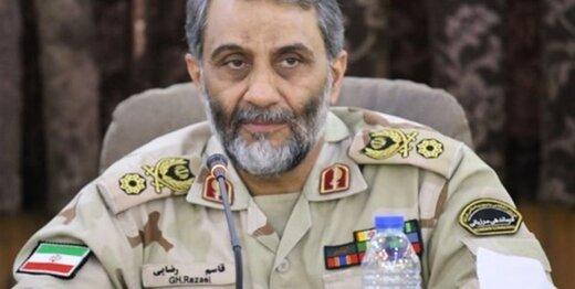 توصیه مهم فرمانده مرزبانی به زائران اربعین: مواد ممنوعه وارد عراق نکنید
