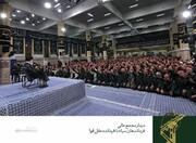 دیدار جمعی از فرماندهان سپاه با رهبر انقلاب