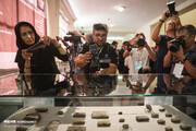 تصاویر | نمایشگاه سوغات هخامنشی استرداد شده از آمریکا