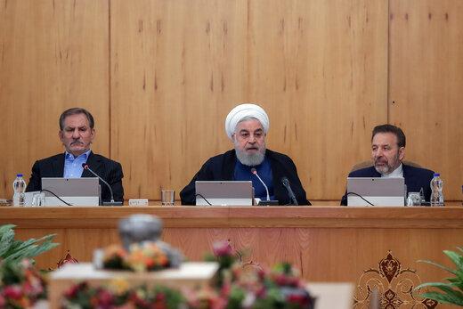 الرئيس روحاني : بالامكان القبول بالمبادرة الفرنسية