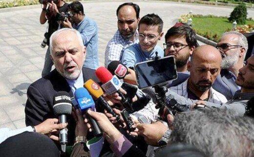 ظریف: طرح چهار ماده ای مکرون مورد تائید ما نیست/آغوش ایران برای سعودی باز است