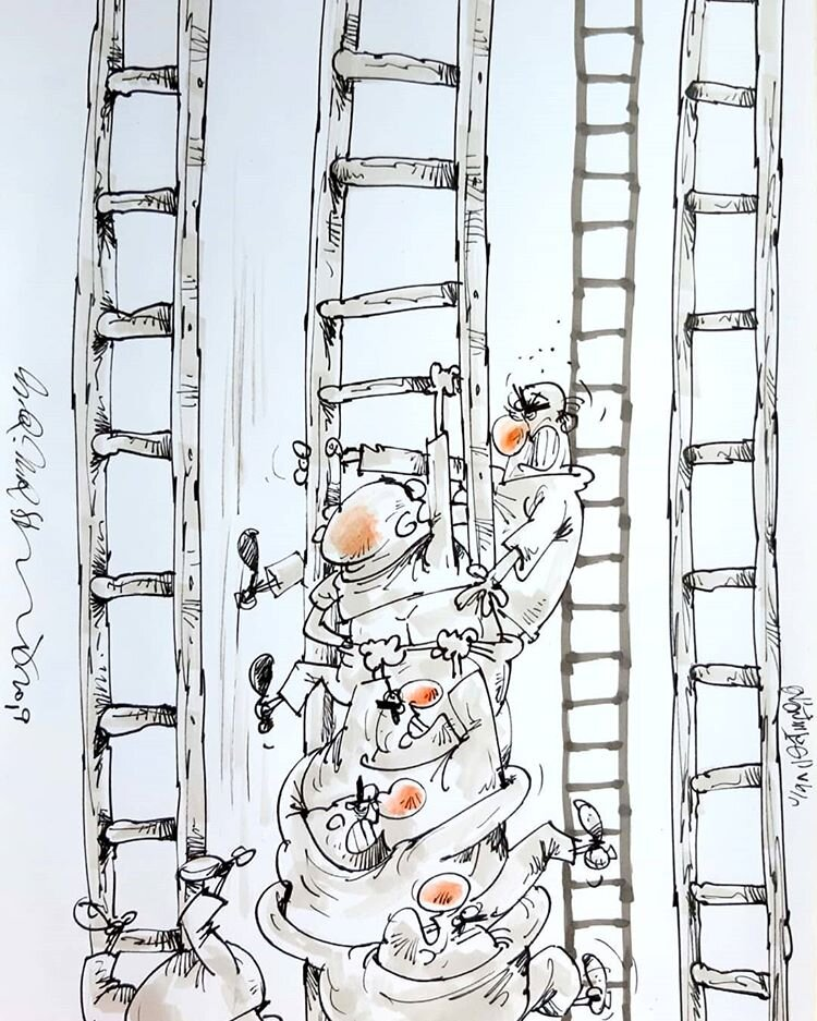 نردبان به اندازه همهمون هست آقای مجری!