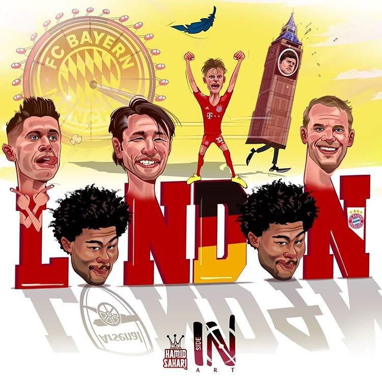 باواریاییها لندن را فتح کردند!