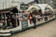 کتابفروشی قایقی هلندی