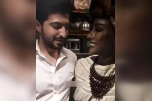 فیلم | رونمایی از دختر ملکه آفریقایی در سفره خانهای در تهران!
