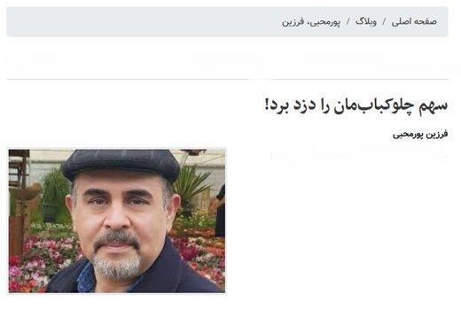 استقبال مخاطبان از یادداشت طنزی درباره دزدی از خانه نماینده مجلس