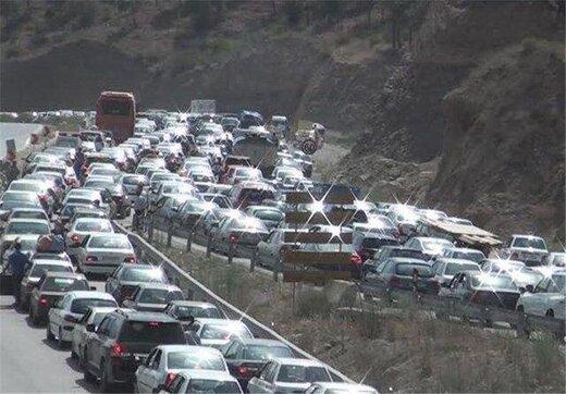 اعلام وضعیت ترافیک در محورهای کرج - قزوین و چالوس