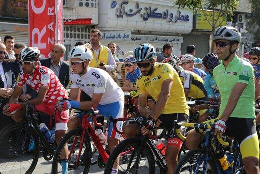 آغاز مرحله سوم تور دوچرخهسواری ایران (آذربایجان)