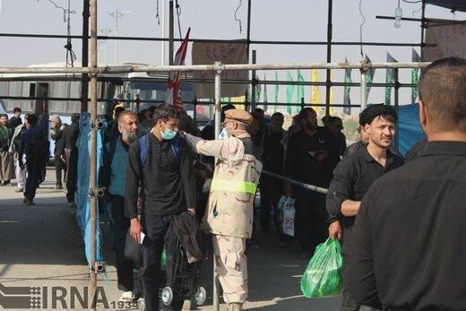 مرز شلمچه برای تردد زائران اربعین باز است