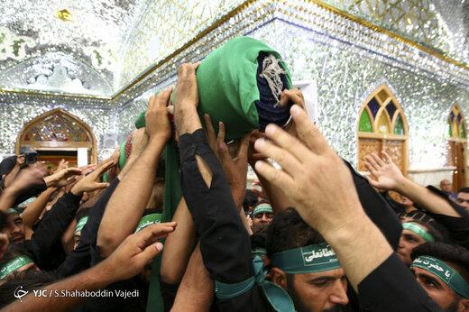 مراسم سنتی و مذهبی قالیشویان مشهد اردهال