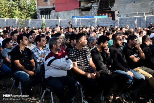 مراسم سالگرد درگذشت هادی نوروزی در کپورچال