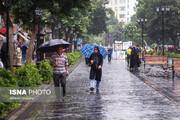 تداوم بارش باران در کشور/ تهران کمی ابری!