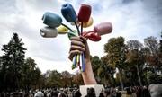 رونمایی از مجسمهای به یاد قربانیان حملات تروریستی در پاریس