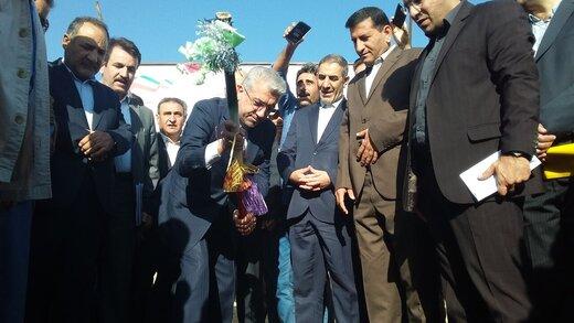 فاز اول پست ۱۳۲ کیلوولت سوق کهگیلویه با حضور وزیر نیرو کلنگزنی شد