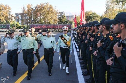 مراسم صبحگاه نیروی انتظامی