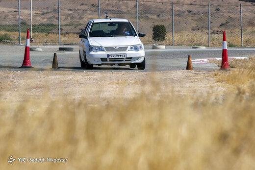 دومین مرحله مسابقات اتومبیلرانی امدادی اسلالوم