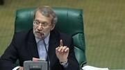 پاسخ علی لاریجانی به پیام رئیس پارلمان چین