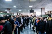 تصاویر | ازدحام در اداره گذرنامه در آستانه سفر اربعین