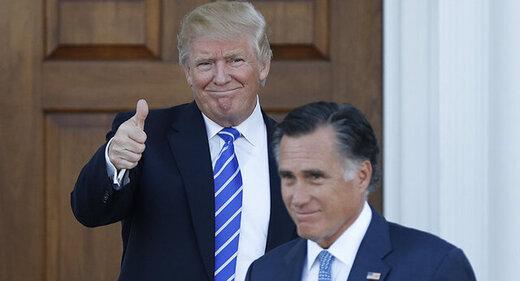 """ترامپ: میت رامنی """"الاغ"""" را برکنار کنید!"""