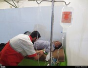 ارائه خدمات درمانی به یک هزار زائر در پایگاههای مرزی خوزستان