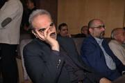 عکس | لحظه دیدار فردوسیپور و خیابانی در مجلس ترحیم مرحوم کاشانی