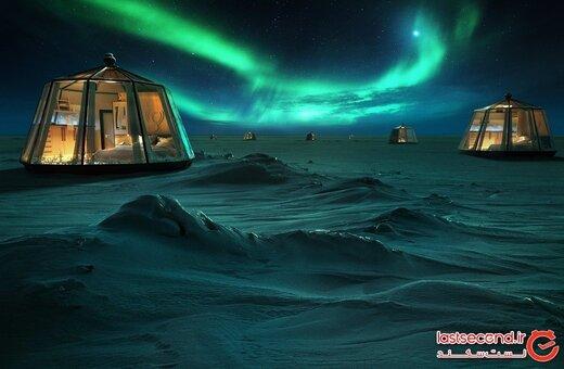 شمالیترین و یکی از گرانترین هتل های جهان در قطب شمال افتتاح میشود!