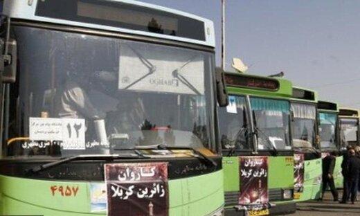 اعزام ۷۰ دستگاه اتوبوس از قم به مرز مهران