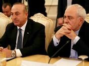 ظريف واغلو يبحثان هاتفيا احدث التطورات في شمال شرق سوريا