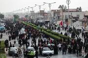 تصاویر | کاروان پیادهروی ۴۰ هزار نفری اهواز راهی کربلا شدند