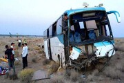 تصادف دو اتوبوس زائران ایرانی در عراق