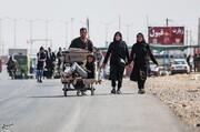 مرز مهران برای تردد خودروهای کاپوتاژ ممنوع است