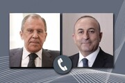رایزنی وزرای خارجه روسیه و ترکیه با محوریت شمال سوریه