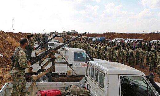 ورود هزاران شورشی سوری و نیروی ارتش ترکیه به خاک سوریه