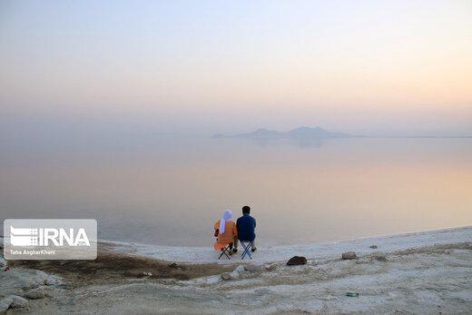 شرایط امیدبخش دریاچه ارومیه