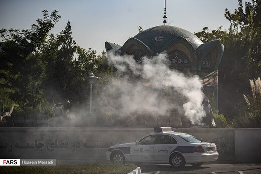 اعزام پلیس راهور به سه استان مرزی اربعین