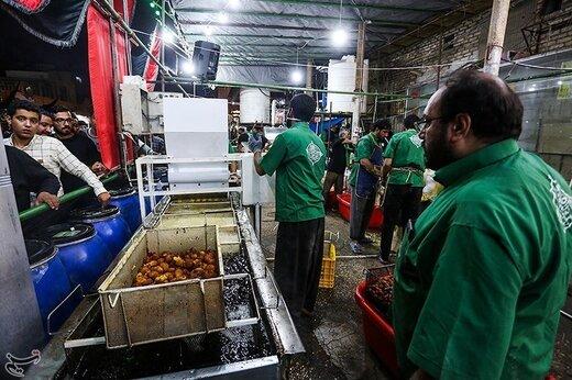 موکب های پذیرایی از زایرین اربعین حسینی