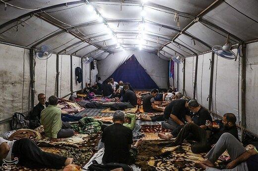 زائرین اربعین حسینی در نجف اشرف