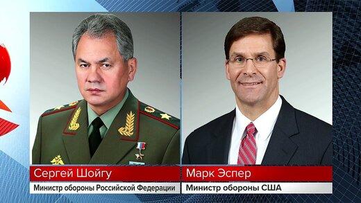 وزیران دفاع روسیه و آمریکا درباره سوریه گفتوگو کردند