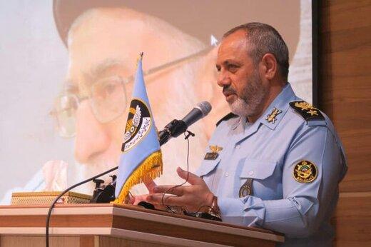 فرمانده نیروی هوایی ارتش: امنیت در آسمان و دریا، نشان از قدرت نیروهای مسلح دارد/در بالاترین سطح توانمندی نظامی هستیم