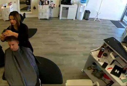 حیوان وحشی به یک آرایشگاه زنانه حمله کرد