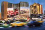 عکس | دیوارنگاره جدید میدان ولیعصر(عج) را ببینید